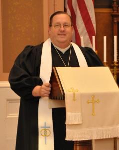 Pastor Bob Podium